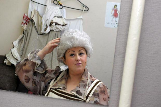 Michelle is enjoying her panto debut