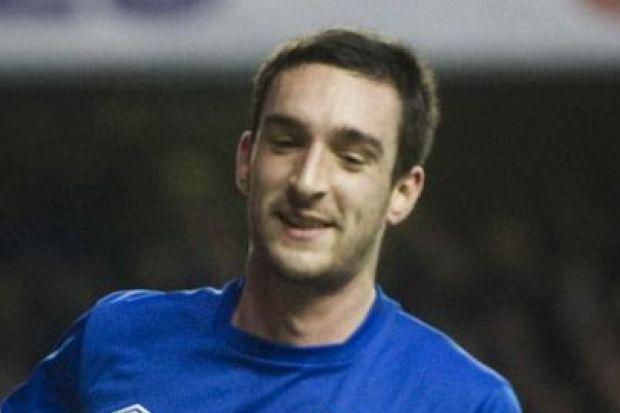 Lee Wallace was delighted to open the scoring