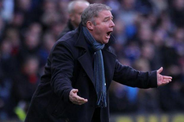 McCoist is delighted with his young side's run of seven victories during December