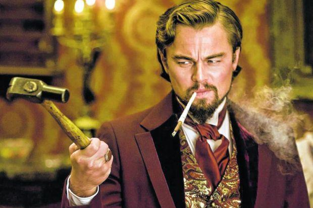 Leonardo DiCaprio has a rare role as a bad guy in Quentin Tarantino's Django Unchained