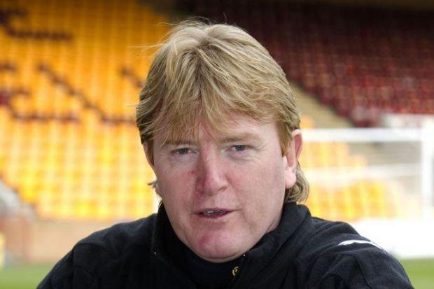 Porter played for Motherwell under Mark McGhee