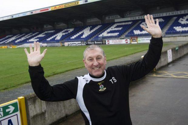 Former Rangers captain Terry Butcher was happy to stay with Inverness