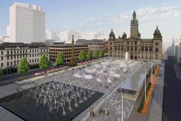 Six design finalists have been chosen for the George Square revamp
