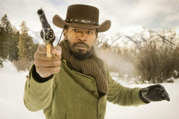 Jamie Foxx casts off his chains as Django