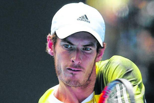 n Punishing hours in the gym have paid off for Andy Murray as he bids to go all the way in Oz