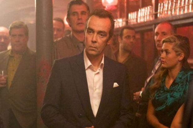 John Hannah plays crime lord Tam McGraw in The Wee Man