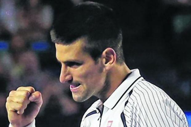 Novak Djokovic was happy to spend less time on court in victory over Tomas Berdych