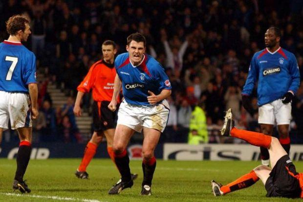Thompson scored in League Cup semi for Rangers in 2005