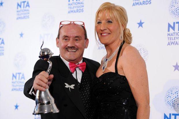 Brendan O'Carroll and wife Jennifer Gibney are delighted with Mrs Brown's Boys best sitcom