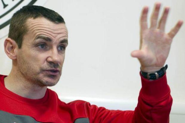 Danny Lennon will want to stop Celtic reaching the final