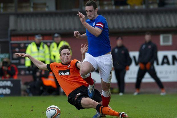 Captain Lee Wallace was one of Rangers' 'SPL' players who failed to help his side avoid defeat to Dundee United