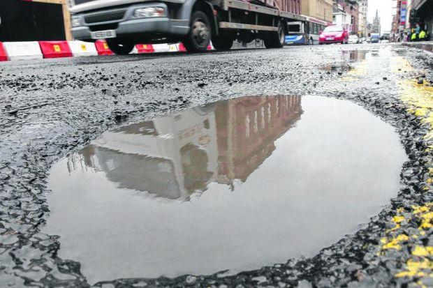 The Evening Times Pothole Watch campaign has highlighted state of the city's crumbling roads