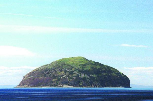 The price to but Ailsa Craig has dropped £1million, to £1.5m