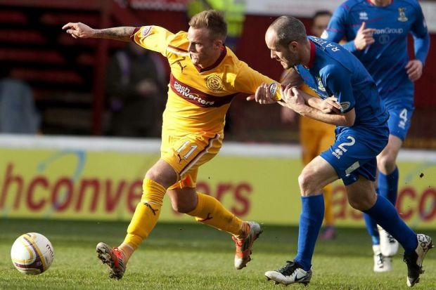 Kallum Higginbotham made his first start for Motherwell in their 3-0 victory over Inverness Caley Thistle