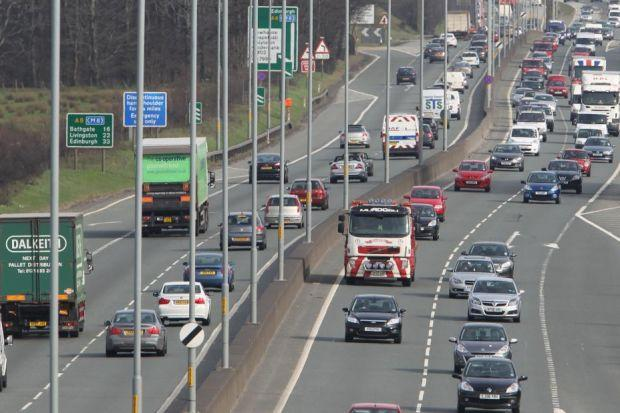 Nicola Sturgeon announced the progress in plan to upgrade the A8