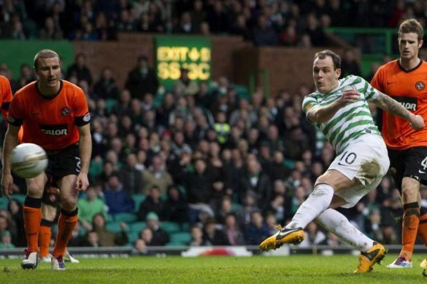 Anthony Stokes proved his class with a double strike in victory over Dundee United