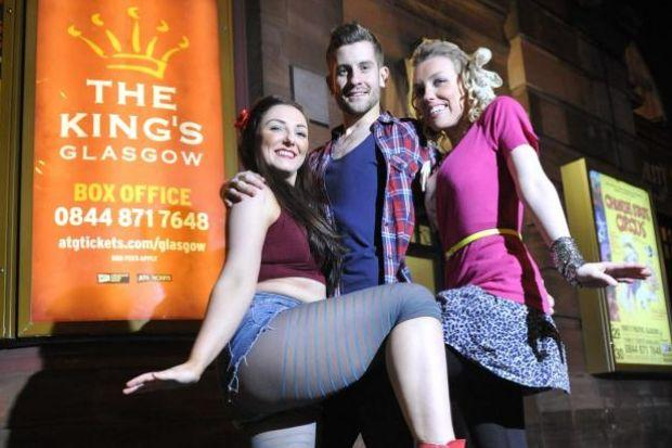 Jennifer Neil, Darryn Glenn and Emma Louise Nisbet are in Fame at the King's Theatre