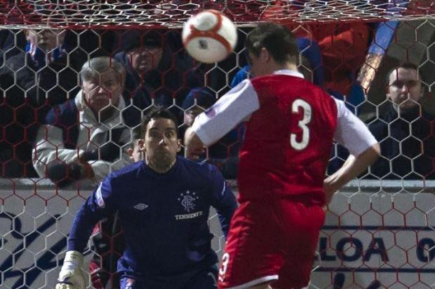 Rangers suffered a title blip when Ross Forsyth grabbed Stirling Albion's goal in 1-1 draw