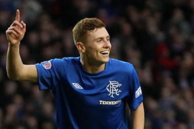 Lewis Macleod has been a real star this year for Rangers