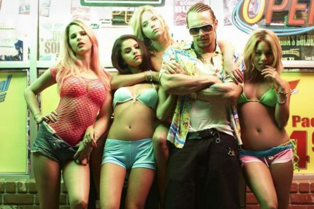 Spring Breakers is sharp and raucous