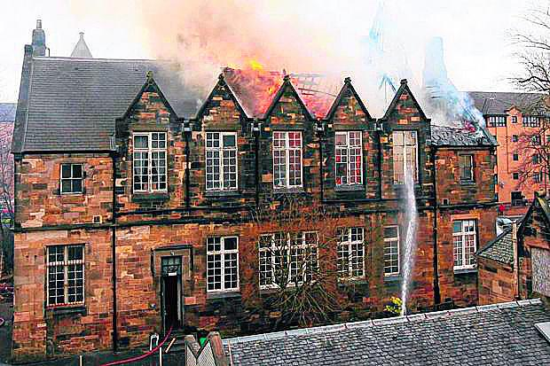 Steiner Primary and Infant School was hit by a major blaze last month
