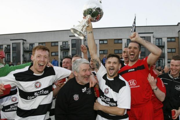 Rankin's Ashfield were winners of the Evening Times Cup last season