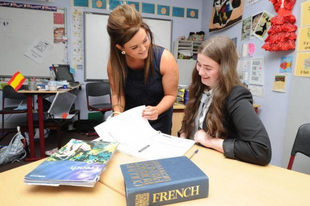 All Saints school in Barmulloch is bucking the national trend by expanding its teaching of foreign languages