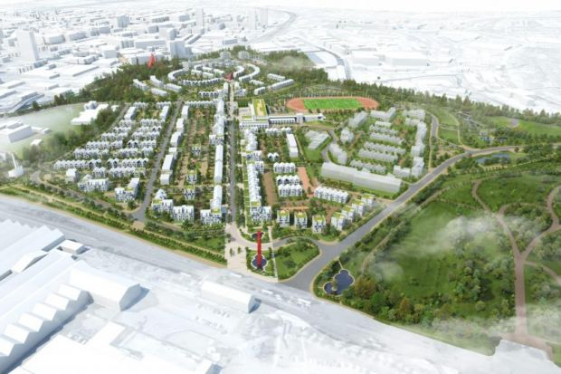 The plans for Sighthill show an impressive transformation