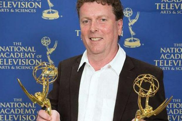 Film director/producer Jamie Doran picked up Emmy awards for his films Battle For Syria and Opium Brides