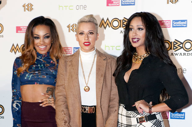 Stooshe (left to right) Karis Anderson, Courtney Rumbold and Alexandra Buggs