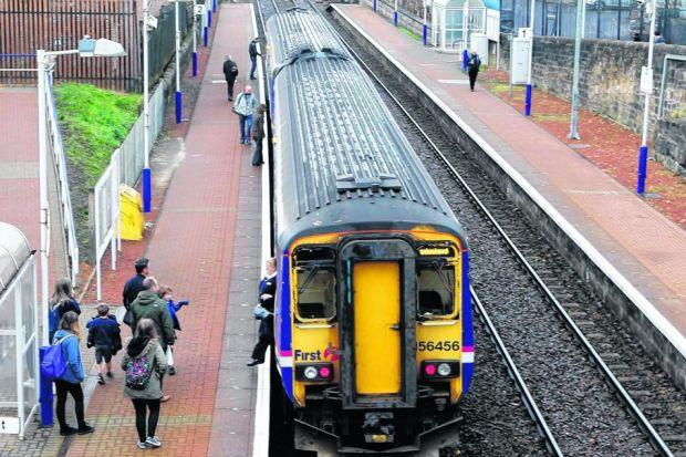 Nicola Sturgeon pledged the six Glasgow train stations on the Maryhill line would stay open under the SNP