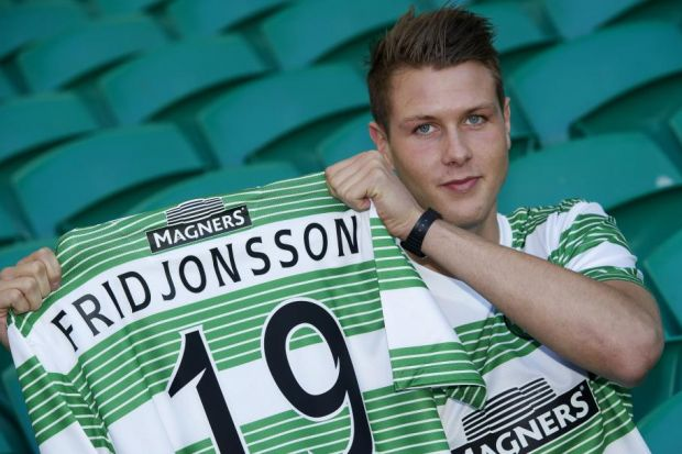 Striker Holmbert Fridjonsson will join Celtic on a four-year deal from Icelandic club Fram on January 1