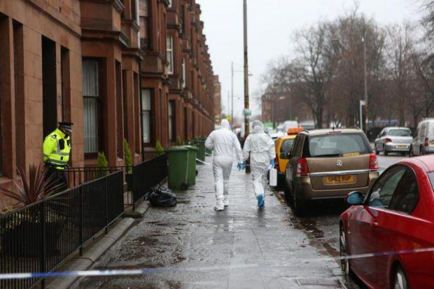 Murder probe after body found in Glasgow flat