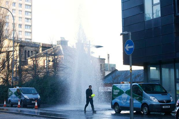 In pictures and video: the great Glasgow flood