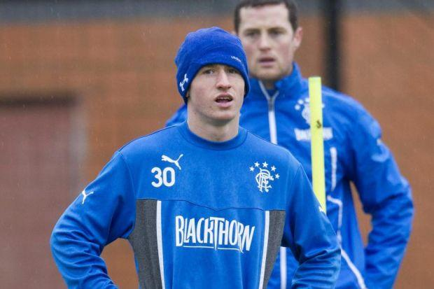 Fraser Aird is hoping to build on his man of the match performance against Dunfermline