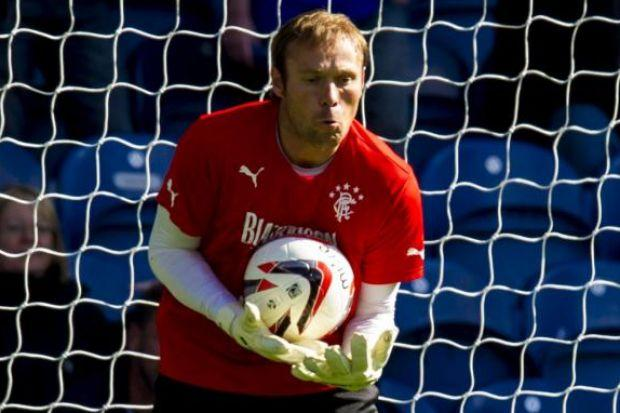 Steve Simonsen has yet to make his Rangers debut