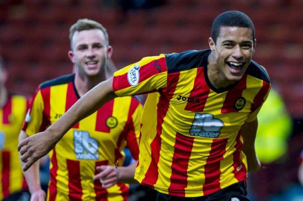 New Thistle singing Lyle Taylor opened his Firhill account against County but it wasn't enough to trigger a home win