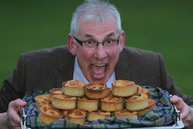 Stephen McAllister claimed the World Scotch Pie Championship