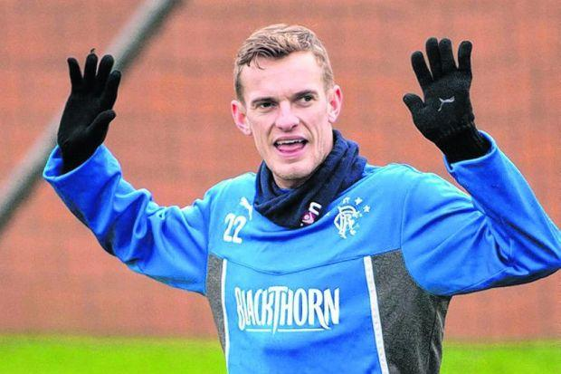 On call...Rangers have received tentative enquiries about Dean Shiels availability