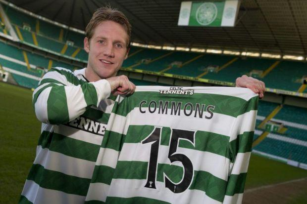 Kris Commons signed for Celtic from Derby in 2011