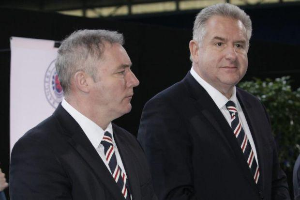 Ally McCoist has put trust in Graham Wallace