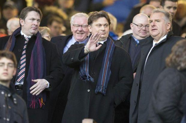 Sandy and James Easdale join Graham Wallace at Ibrox on Saturday