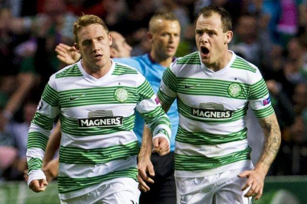 Kris Commons and Anthony Stokes have formed a lethal partnership for Neil Lennon's Celtic this season