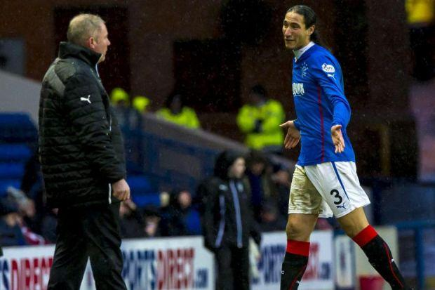 Mohsni saw red again at the weekend