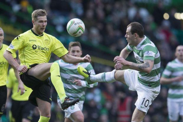 Anthony Stokes was guilty of missing a number of good chances