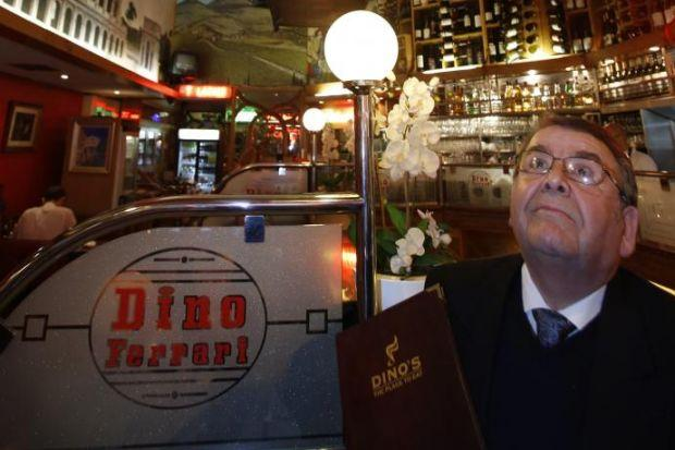 Restaurateur Alfredo Crolla is selling up after more than 30 years at the helm of Dino Ferrari's in Sauchiehall Street