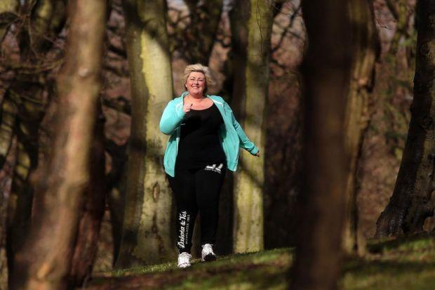 Michelle McManus is ready to get fit and healthy