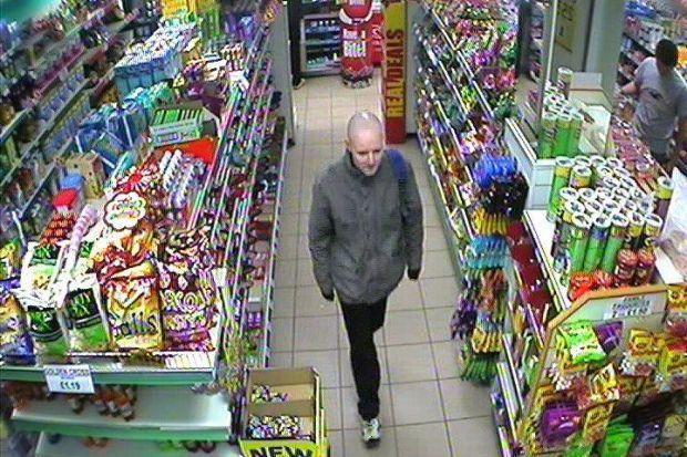 Police have released CCTV images of a man they want to interview