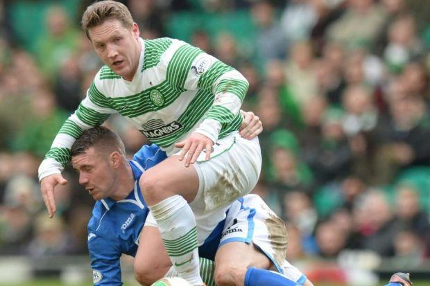 Kris Commons has scored 22 goals this season but missed out against St Johnstone