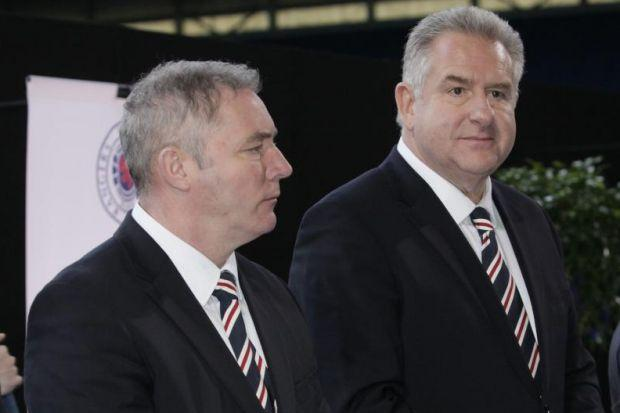 Ally McCoist has drawn up a blueprint on Rangers future for the attention of Graham Wallace